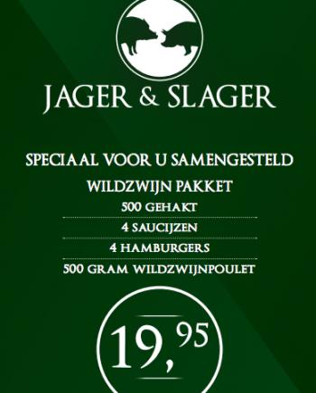 Slagerij van de Pasch- Jager en Slager- Hiltho 2017 aanbieding