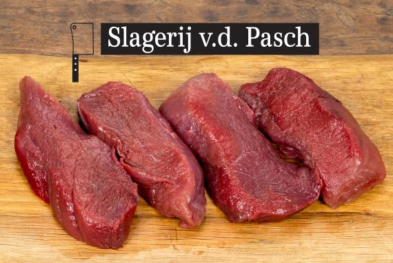Jagerslager wildzwijnbiefstuk- slagerij van de Pasch- Meerlo